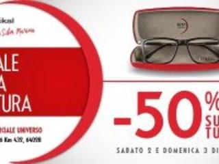 B&M Optikal arriva a Silvi Marina: sconti del 50% su tutti i prodotti per i primi giorni d'apertura