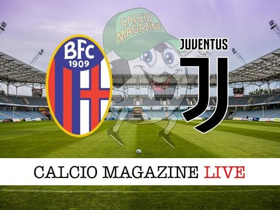 Bologna – Juventus: cronaca diretta live, risultato in tempo reale