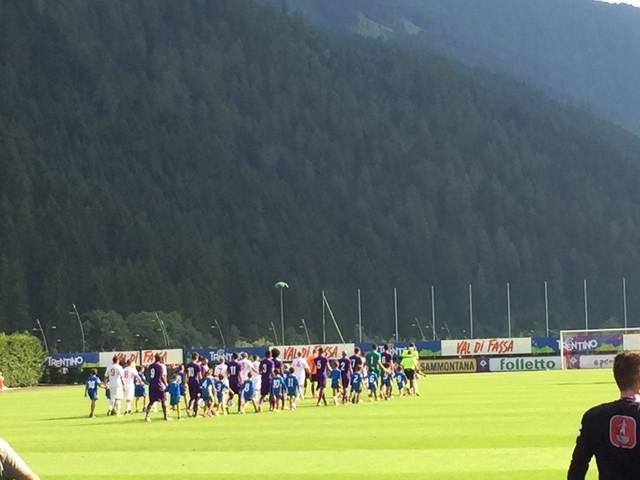 VIDEO VN – L'entrata in campo di Fiorentina e Bari