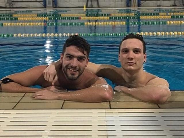 Manuel Bortuzzo e le bracciate in piscina: «Sfido Detti e Paltrinieri sui 50 stile»