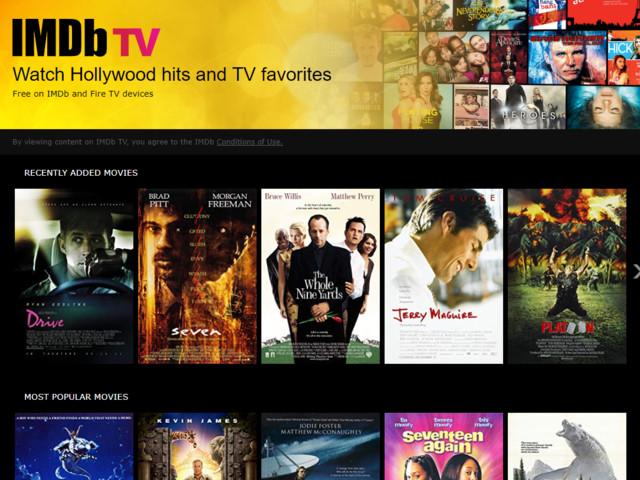 IMDb TV streaming gratuito di film e serie TV in Italia