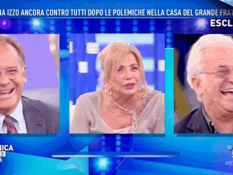"""Grande Fratello Vip, Simona Izzo a Domenica Live: """"Secondo me, Jeremias Rodriguez è fluido..."""""""