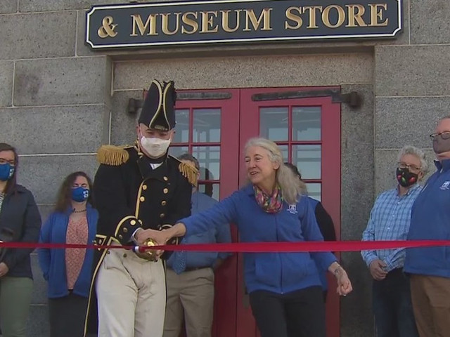 USS Constitution Museum Reopens To The Public