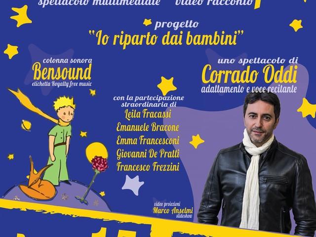"""Corrado Oddi chiude il cartellone di """"Avezzano Eventi Estate 2019"""" con Il Piccolo Principe,video racconto"""