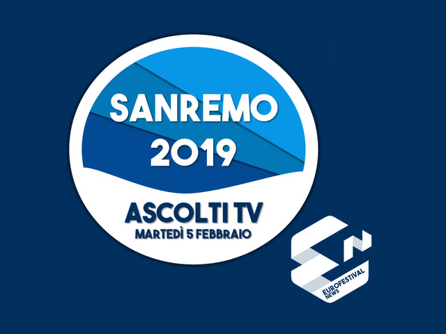 Ascolti Prima serata Sanremo 2019: 10,1 milioni di spettatori e il 49,5% di share. I dati nel dettaglio