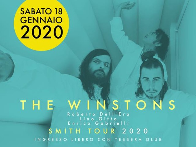 The Winstons in concerto al Glue di Firenze