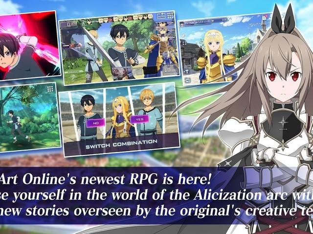 Sword Art Online Alicization Rising Steel disponibile sul Play Store
