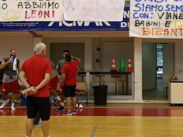 Basket, l'OraSì comincia a scaldare i muscoli: si avvicina il momento del raduno