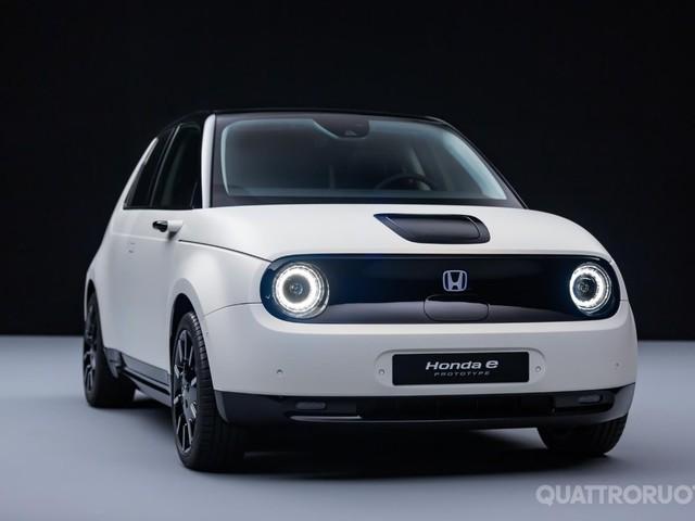 Honda e Prototype - L'elettrica su strada dal 2020