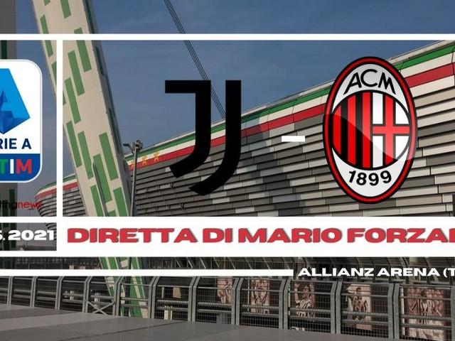 (Diretta) Juventus - Milan alta tensione per l'alta classifica
