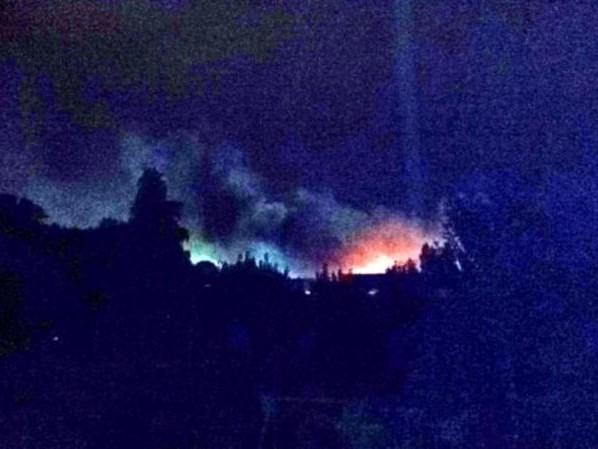 Gioia Tauro, baracche di San Ferdinando incendiate. Un morto