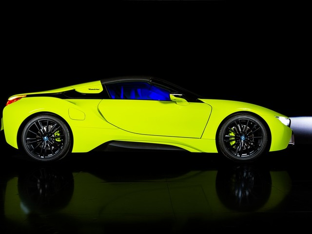 BMW i8 Roadster LimeLight Edition: una one-off sostenibile