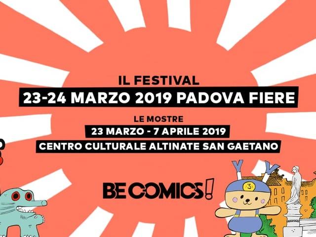 """""""Be Comics!"""" il festival del fumetto a Padova"""