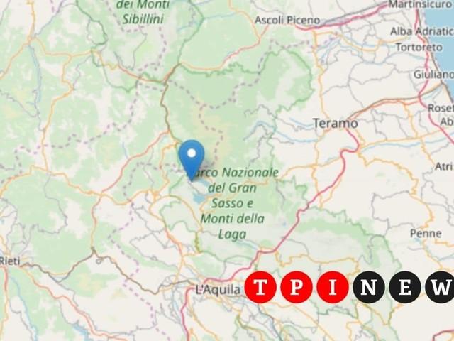 Terremoto oggi L'Aquila 14 novembre 2019: le informazioni su magnitudo ed epicentro