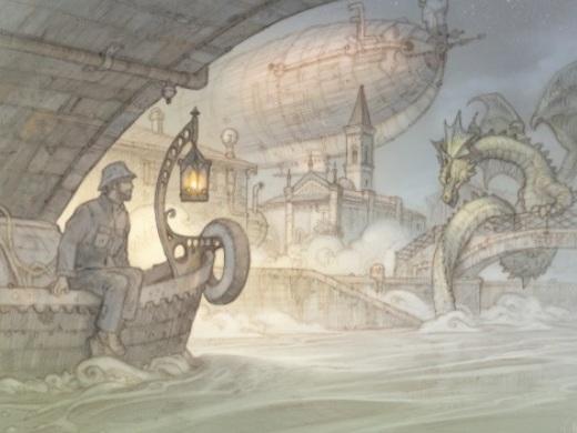 E dalla nebbia di Milano spunta un drago millenario