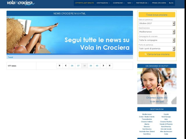 Turismo e crociere: Salerno ancora più strategica per MSC Crociere - 17/04/2012