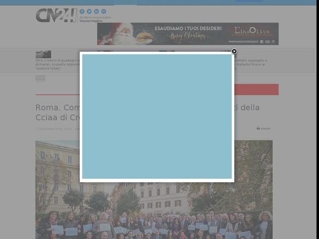 Roma. Competenze digitali, attestati ai dipendenti della Cciaa di Crotone