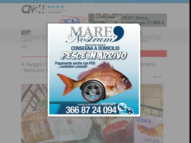 """A Reggio Calabria arriva la """"spesa sospesa"""". Falcomatà: """"Nessuno deve rimanere indietro"""""""