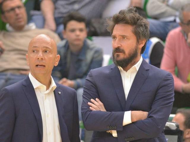 DIRETTA GALATASARAY SASSARI/ Video streaming Dazn: parla coach Pozzecco