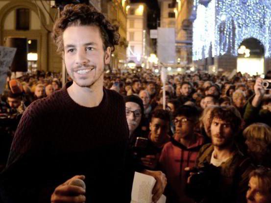 """La sardina getta la maschera: """"Vado in piazza per Bonaccini"""""""