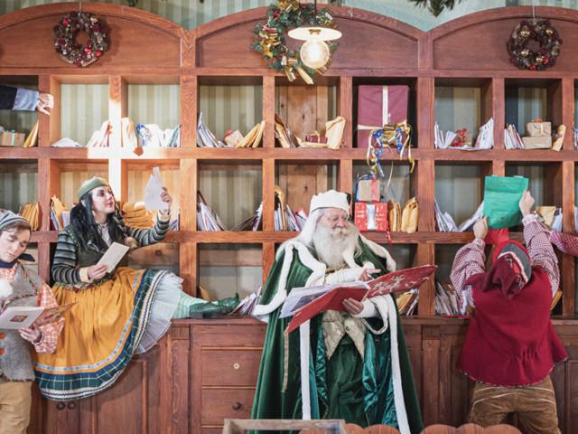 Apre Il Sogno Del Natale, il villaggio di Babbo Natale dalla Lapponia a Milano