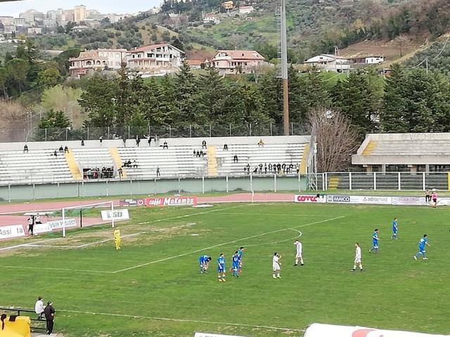 Chieti calcio, il progetto stadio è approvato ma i lavori sono fermi