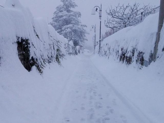 Il freddo intenso è arrivato e ha portato la neve in gran parte delle regioni italiane