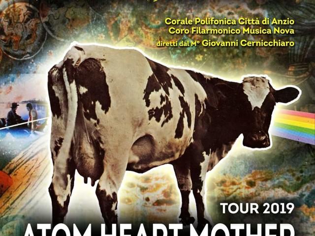 Anzio: Corale Polifonica e Pink Floyd Legend protagonisti a Sanremo con 'Atom Heart Mother tour'