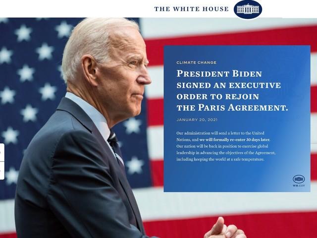 Joe Biden è presidente. Gli ambientalisti Usa tirano un sospiro di sollievo