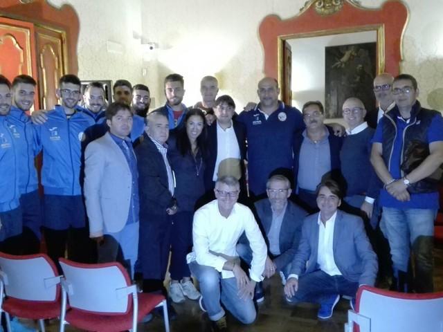 Taranto: presentata la squadra di volley di serie B maschile Associazione sportiva Frascolla, abbinata a Erredi