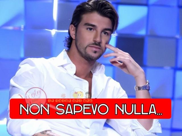 """'Anticipazioni Verissimo' Andrea Damante confessa: """"Ho saputo della nuova frequentazione di Giulia come tutti dai social. Ci sono rimasto male…"""""""
