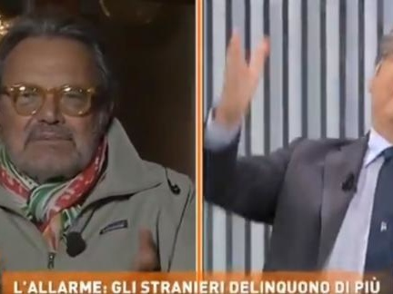 Lo scontro in TV tra Del Debbio e Toscani: «Ma vai a fare foto e non rompere le pa**e» | VIDEO