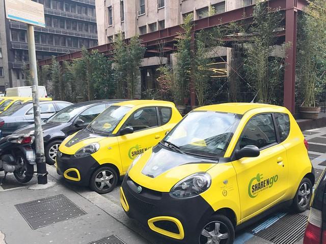 Su Quattroruote di ottobre - Car sharing, business in profondo rosso