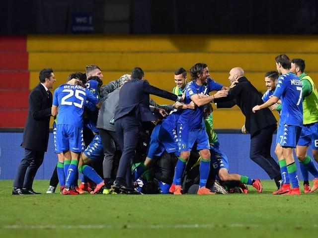 Benevento-Sassuolo 1-2, Peluso al 94' spegne il sogno del primo punto dei sanniti