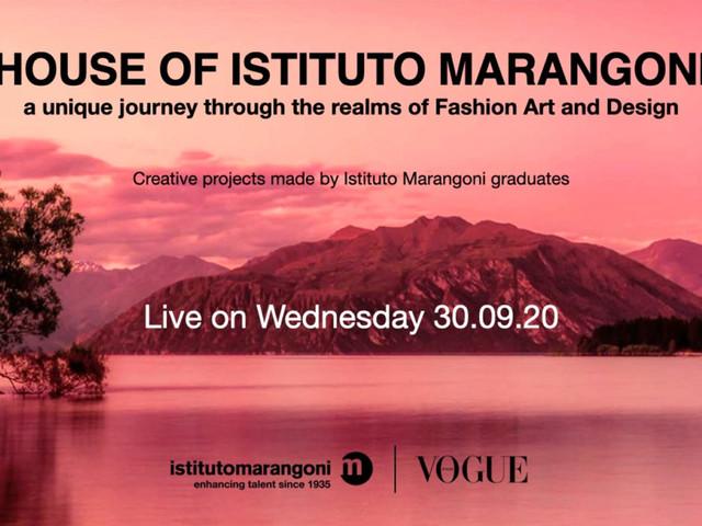 House of Istituto Marangoni: a caccia di giovani talenti