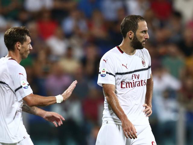 E il primo Higuain vale solo un punto Milan, la sosta resta tabù
