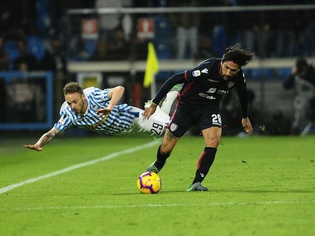 Spal e Cagliari si dividono la posta in palio: pirotecnico 2-2 al Mazza