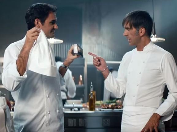 La canzone della pubblicità Barilla con Roger Federer