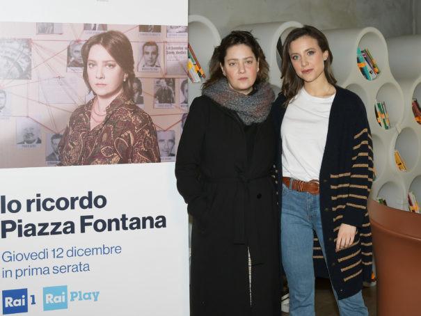 """""""Io ricordo Piazza Fontana"""" la fiction Rai per il 50esimo dalla strage alla Banca Nazionale dell'Agricoltura di Milano."""
