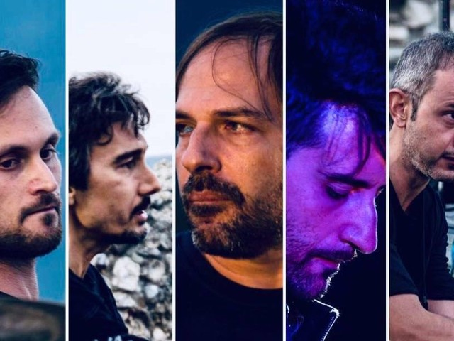 Tribute band dei Pink Floyd in scena a Peltuinum. Concerto studiato con riferimenti al live di Pompei del 1972