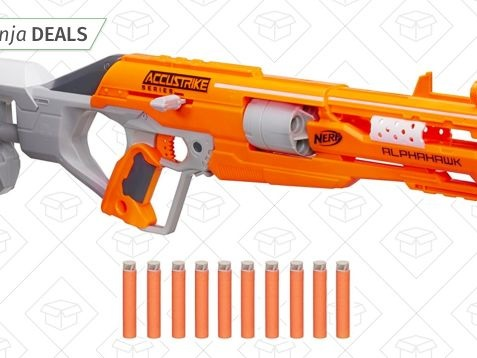 Dominate Your Next Office Nerf War With This $16 Gun