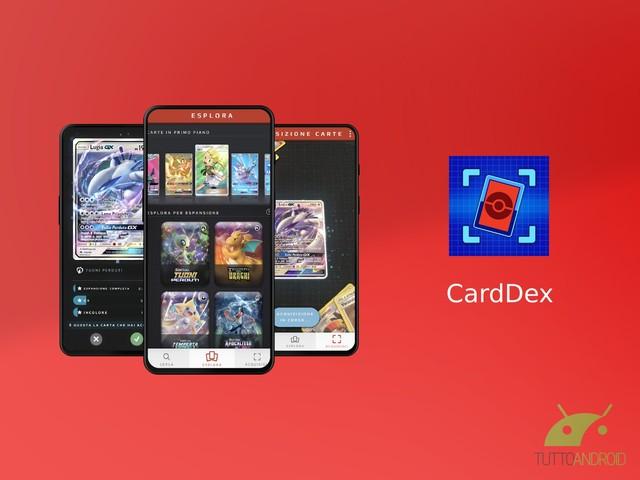 L'app CardDex permette di organizzare con facilità le carte del GCC Pokémon