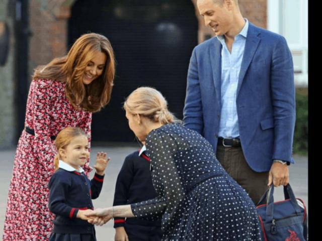 Una battuta su Charlotte e Kate Middleton convoca a Kensington Palace il conduttore colpevole (Foto)