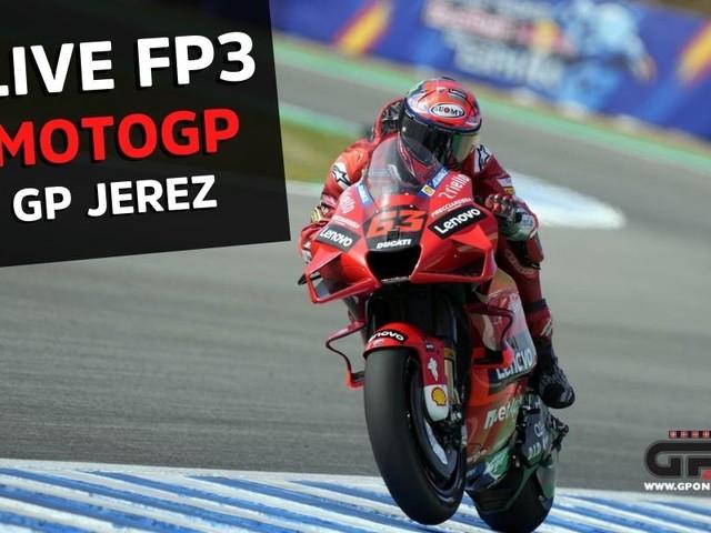 LIVE FP3 Jerez MotoGP - cronaca diretta minuto per minuto