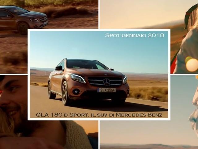 """""""Back Home"""" è la canzone della pubblicità Mercedes GLA 180 d Sport"""