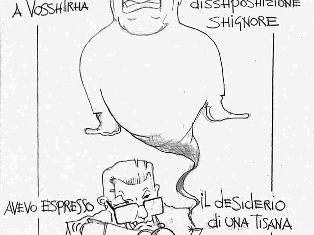 La vignetta del giorno: la tisana di Mattarella