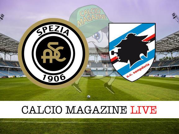 Spezia – Sampdoria: cronaca diretta live, risultato in tempo reale