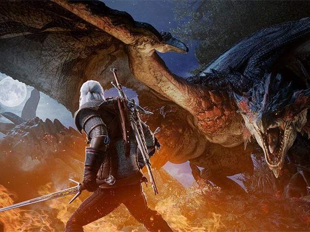 Geralt di The Witcher 3 arriva oggi in Monster Hunter World
