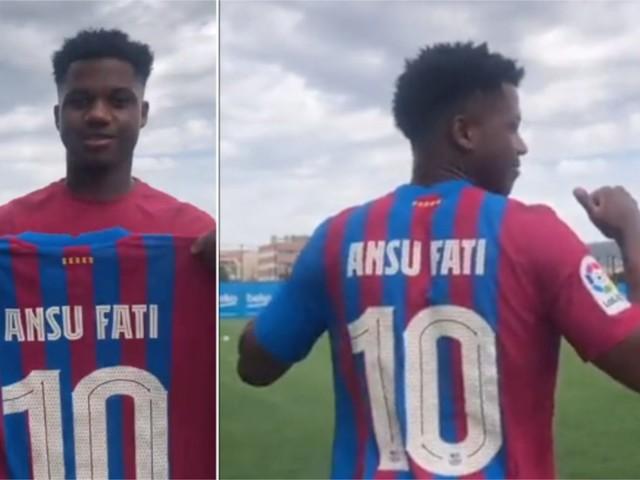 Maglia numero 10 ad Ansu Fati: il Barcellona ha scelto l'erede di Messi