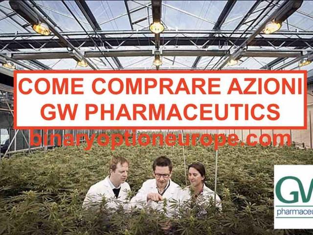 Comprare azioni GW Pharmaceuticals Italiano quotazioni [2020]